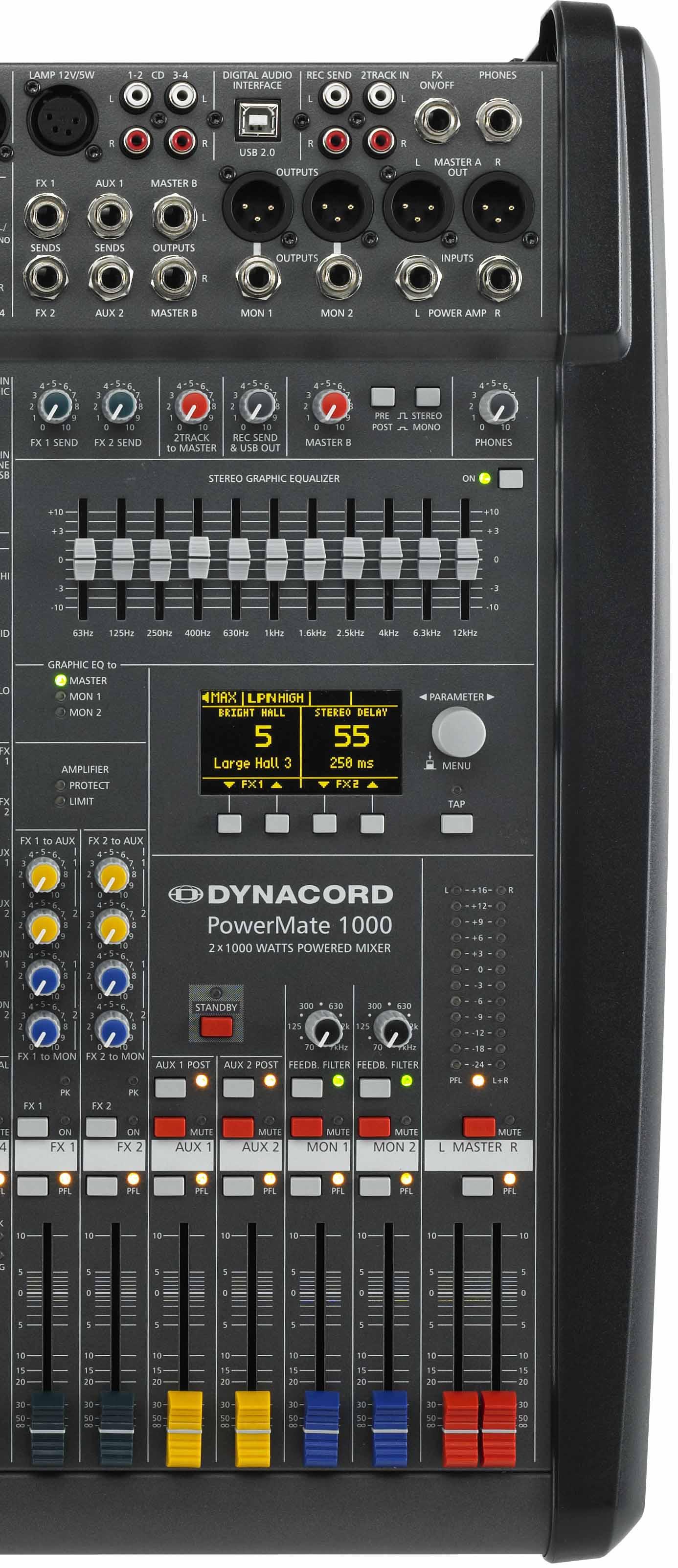 PM1000-3 میکسر صدا