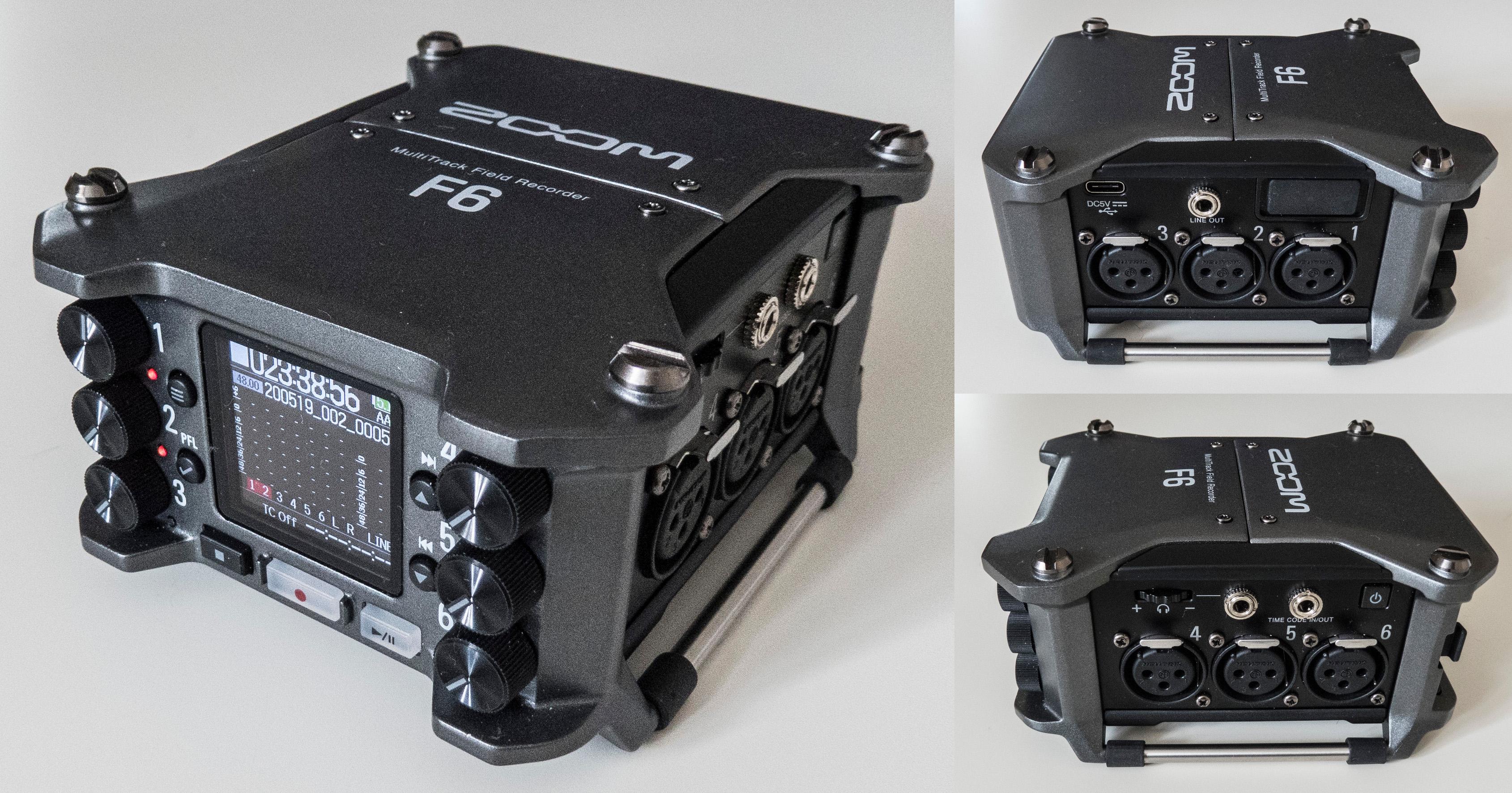 Zoom Recorder F1SP